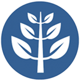 image icon of a branch with leaves